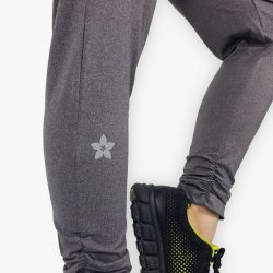 Speckled Sporty Harem Pants