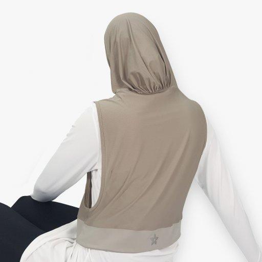 Hooda Sports Hijab for Dry Use (Zip Pocket)