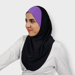 Black Iman Sports Hijab