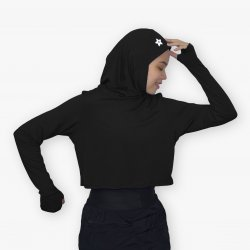 Crop Top with Sports Hijab