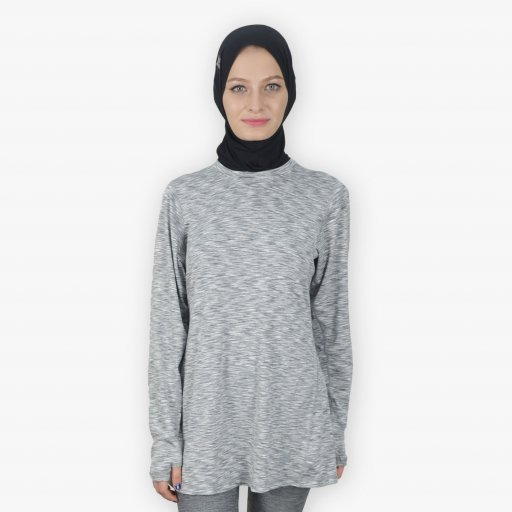 long and modest sports top