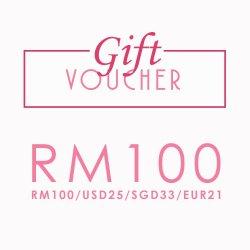 Gift Voucher RM100/USD25/EUR21