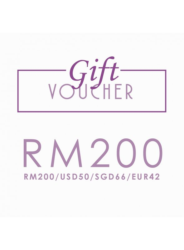 Gift Voucher RM200/USD50/EUR42