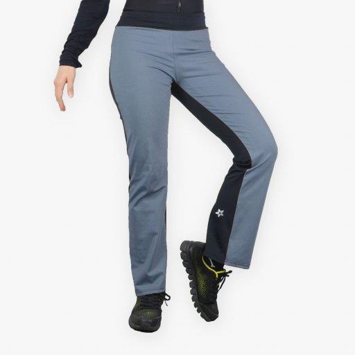 Leggings - Stirrup High Waist Melange Kelabu