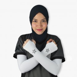 Sports Arm Sleeves (White)
