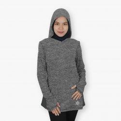 Ultra Hoodie Top - Grey