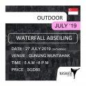 Waterfall Abseiling - Gunung Muntahak, Kota Tinggi