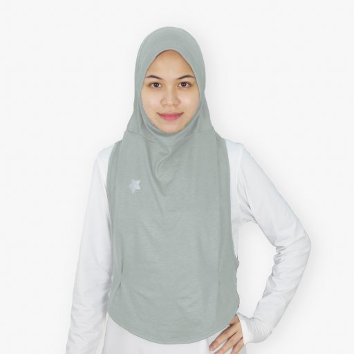 Hooda Ellipse I Sports Hijab (Melange)