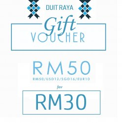 Duit Raya Voucher RM50 for RM30 (GetFitAndGiveBack Finishers)