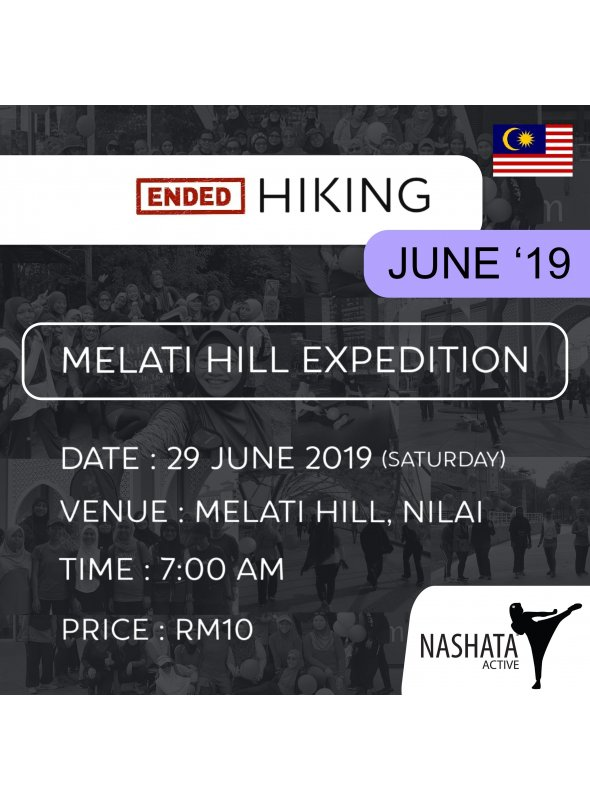 Hiking : Melati Hill, Nilai