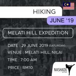 Hiking : Melati Hill, Nilai