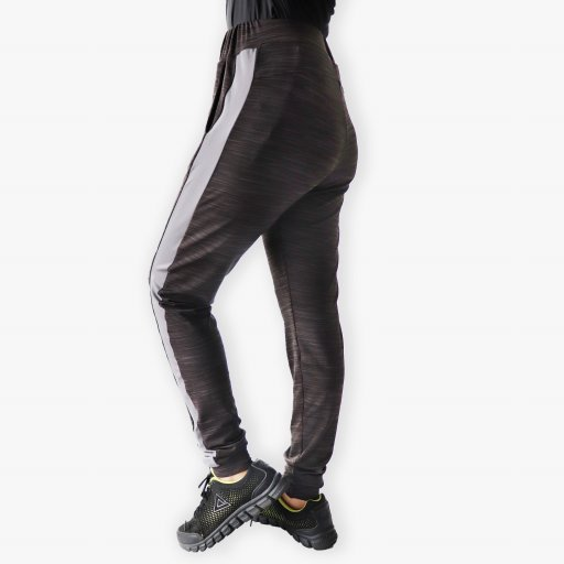 Riada Sweatpants Black Melange