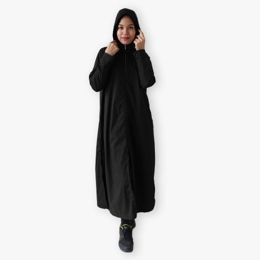 Hooded Abaya (Waterproof)