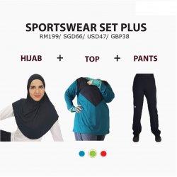 Set Pakaian Sukan Plus