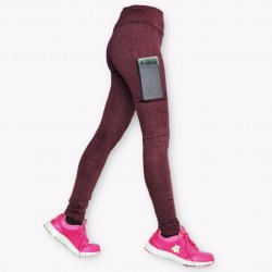 Leggings with Side Pockets (High Waist)