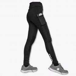 Seluar Kompresi dengan Poket Tepi dan Lutut (Berpoket Tepi (Pemulihan)