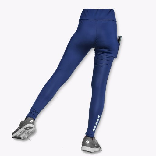 Compression Pants with Side Pockets (High Waist)