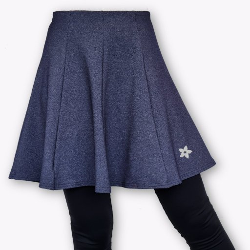 Sports Skirt - Fun & Flair (Heather Navy Blue)