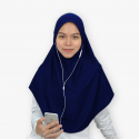 Mumtaz Tunes II - Long and Breathable Sports Hijab