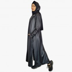 Hooded Abaya with Pockets