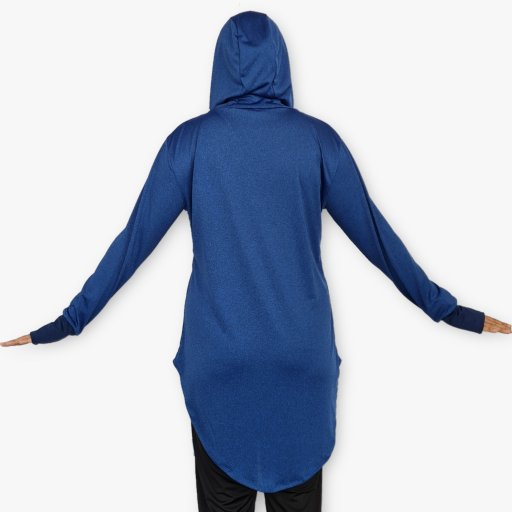 Baju Berhud Fishtail Lengan Panjang