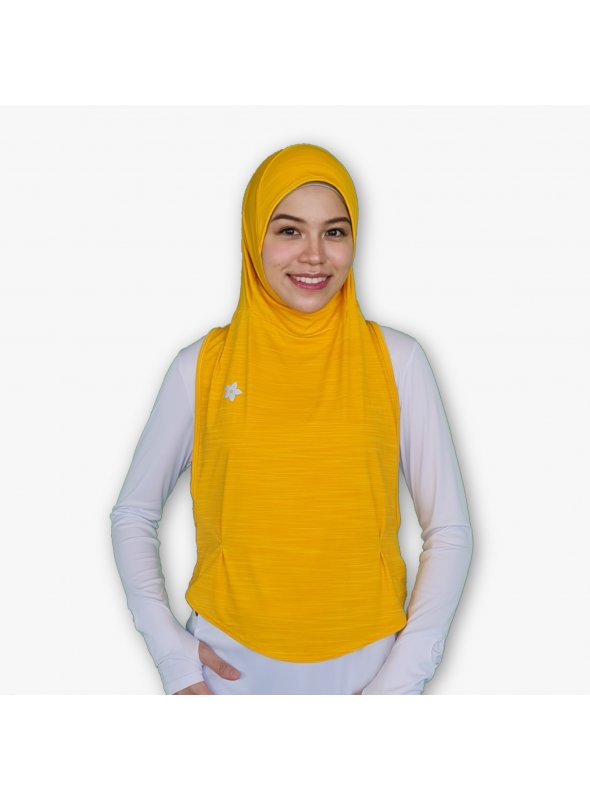 Hooda Ellipse I Sports Hijab (Bright Melange)