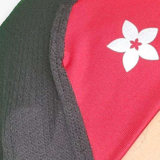 Tudung Sukan Bertalikan Headband Berwarna