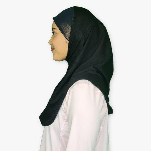 Sports Hijab with Glitter Headband