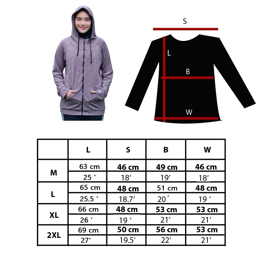 Full-Zip Hoodie Ladies