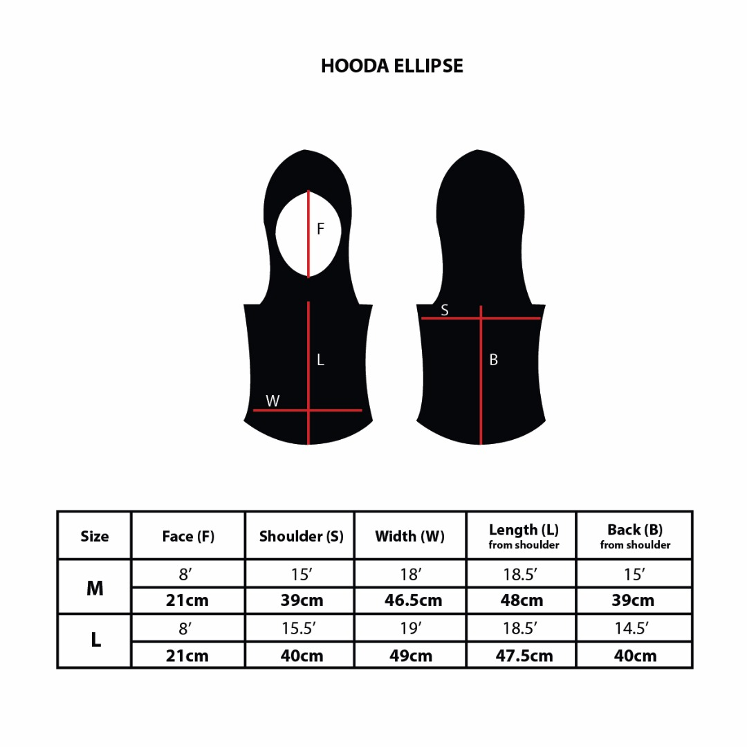Hooda Ellipse Sports Hijab