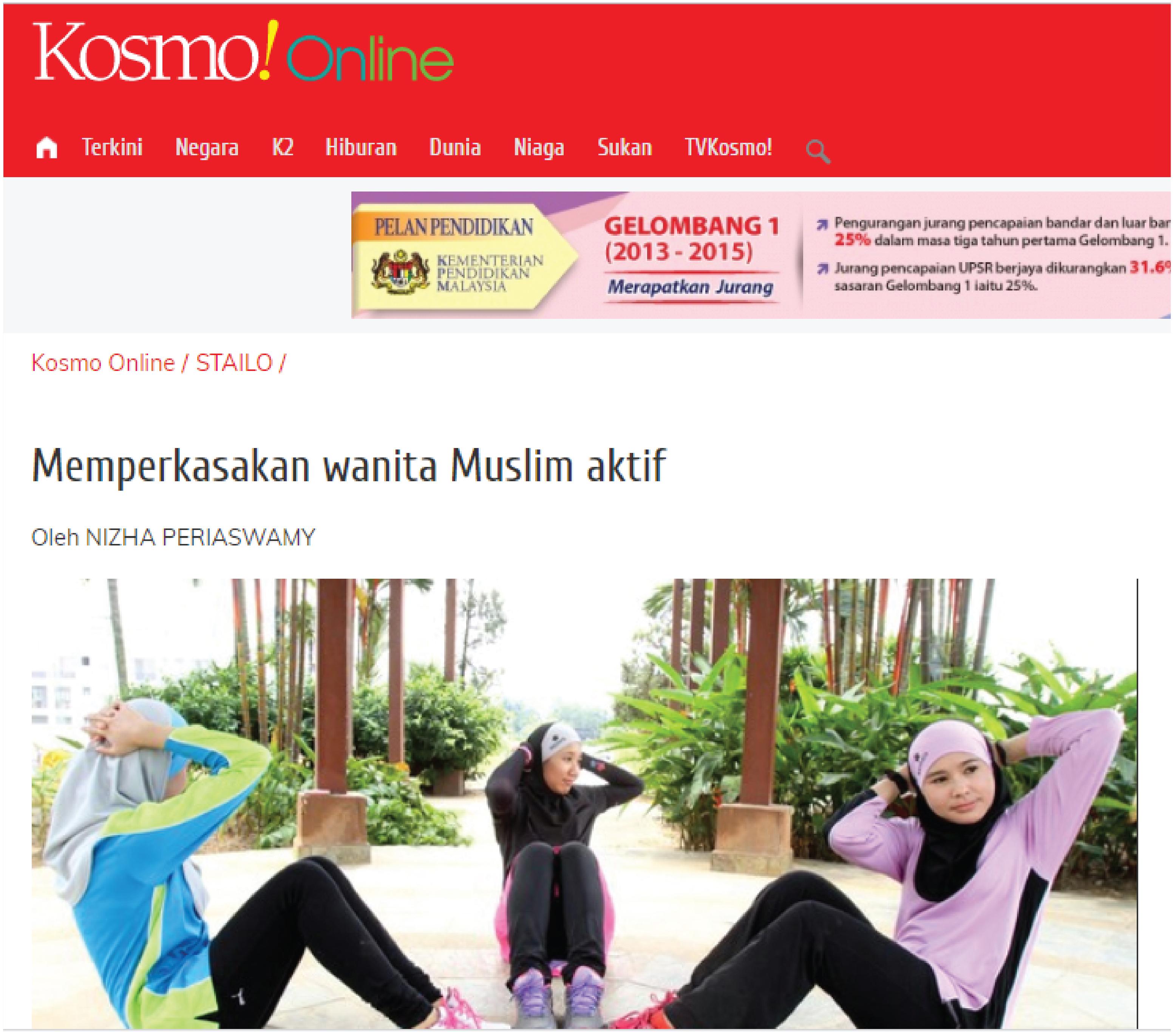 Memperkasakan wanita muslim aktif