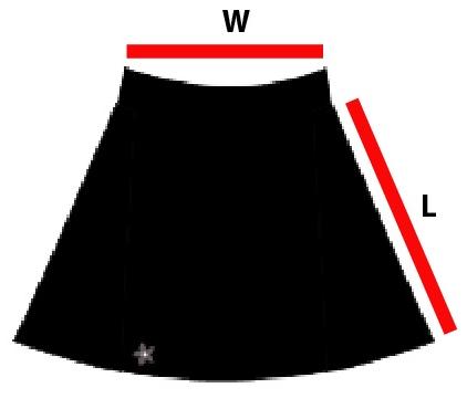 Flare dance skirt