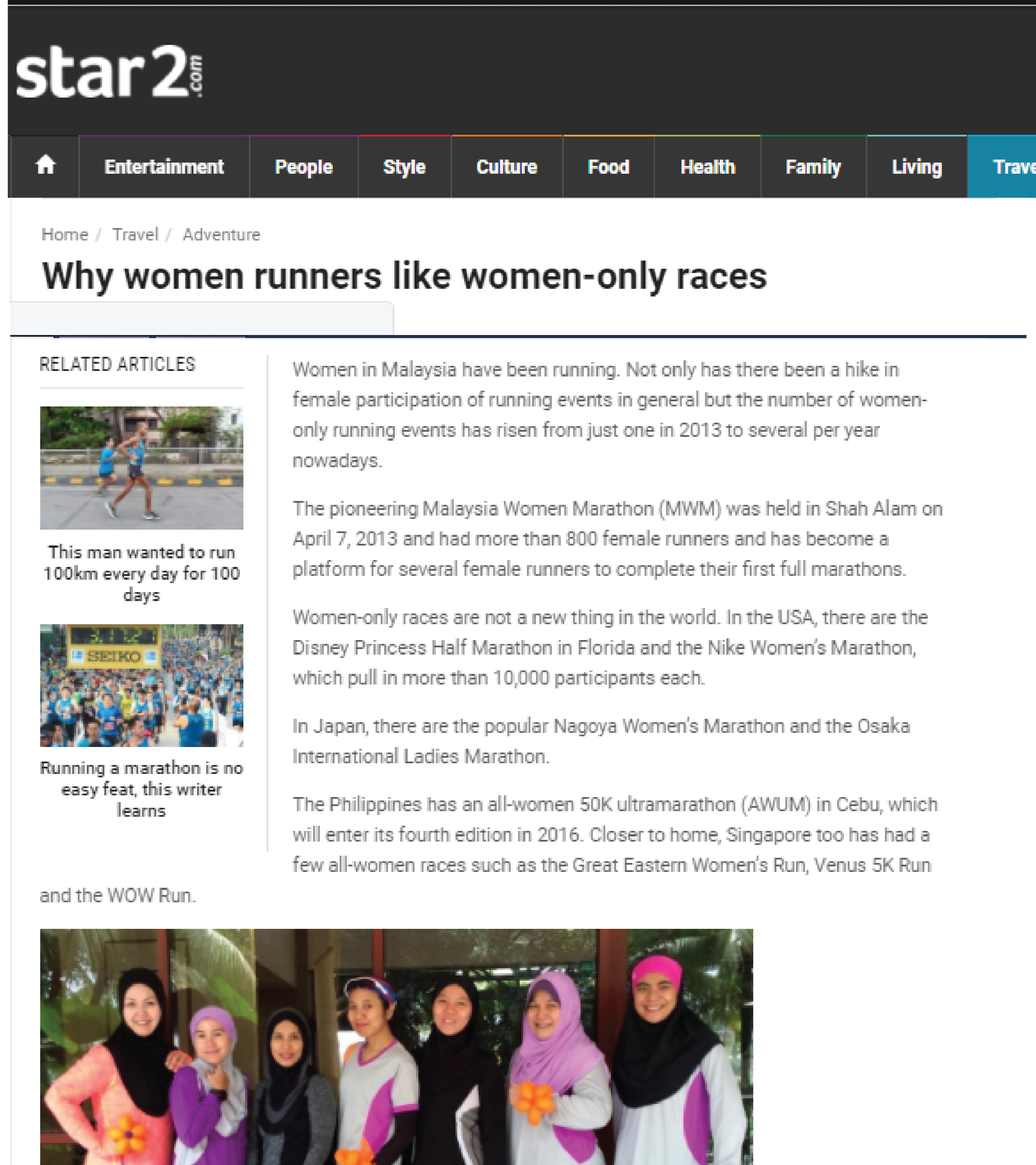 Why women runners like women-only races