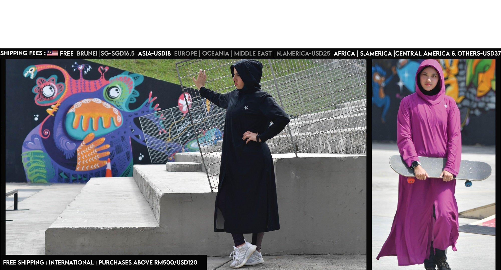 Sports Abaya